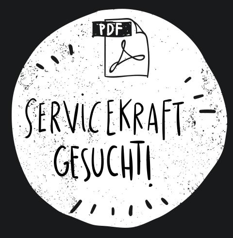 Godesburger Bewerbung Servicekraft